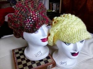 Crochet Newpaper Boy Hats